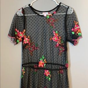 LuLaRoe Deanne II layer dress